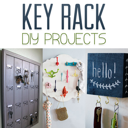 Key Rack DIY Projects