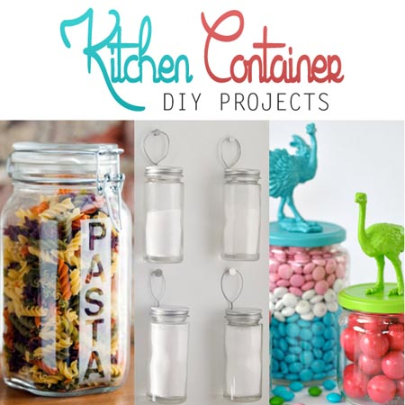 Kitchen Container DIY Projects