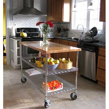 Kitchen Island DIY Projects