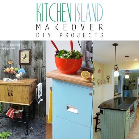 Kitchen Island Makeover DIY Projects