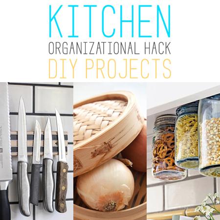 Kitchen Oraginizational Hack DIY Projects