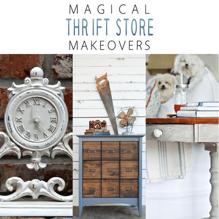 Magical Thrift Store Makeoves