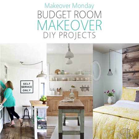 Makeover Monday: Budget Room Makeover DIY Projects