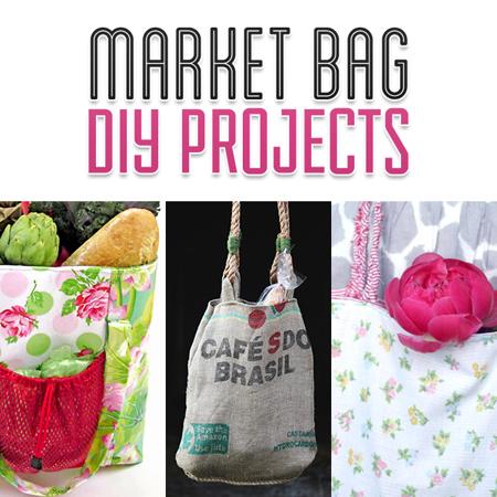 Market Bag DIY Projects