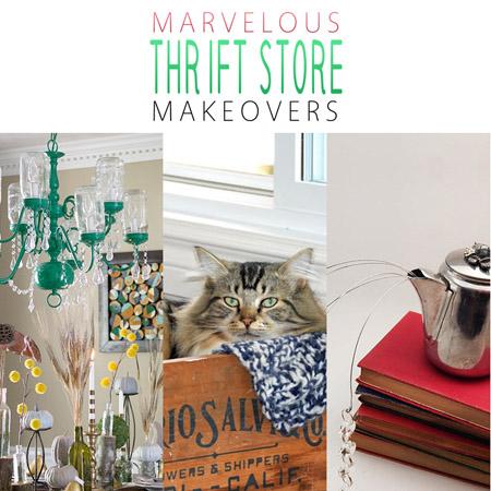 Marvelous Thrift Store Makeovers