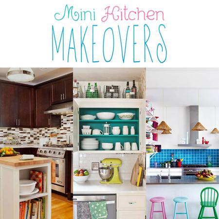 Mini Kitchen Makeovers