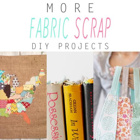More Fabric Scrap DIY Projects