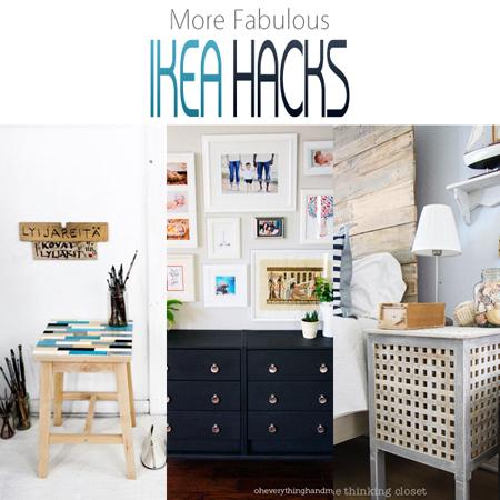 More Fabulous IKEA Hacks
