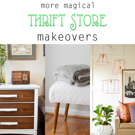More Magical Thrift Store Makeovers