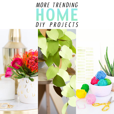 More Trending Home DIY Projects