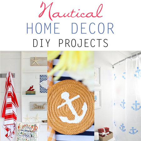 Nautical Home Decor DIY Projects
