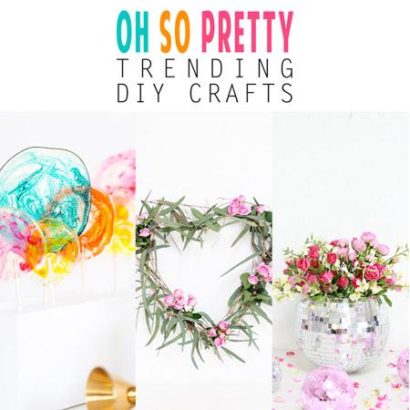 Oh So Pretty Trending DIY Crafts