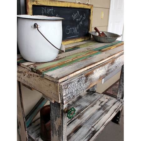 Outdoor Pallet DIY Project 1