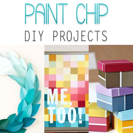 Paint Chip DIY Projects
