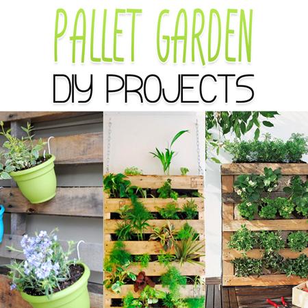 Pallet Garden DIY Projects