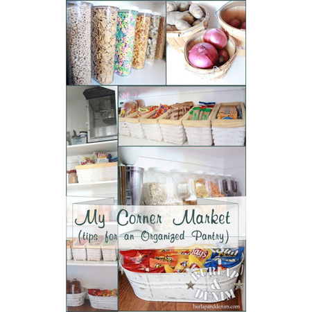 Pantry DIY Projects & Ideas 1