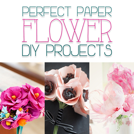 Perfect Paper Flower DIY Projects