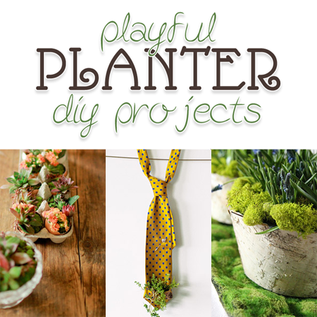 Playful Planter DIY Projects