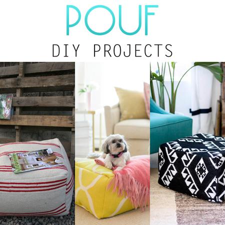 Pouf DIY Projects
