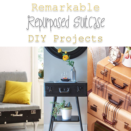 Remarkable Repurposed Suitcase DIY Projects
