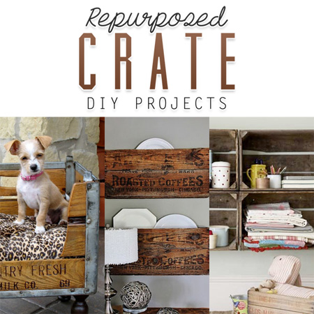 Repurposed Crate DIY Projects
