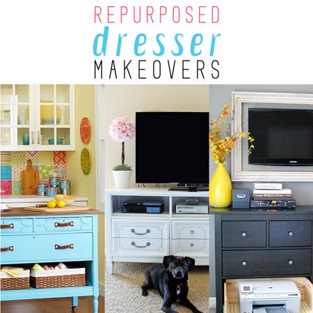 Repurposed Dresser Makeovers