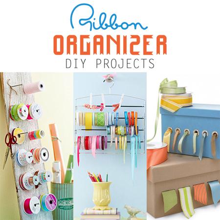 Ribbon Organizer DIY Projects