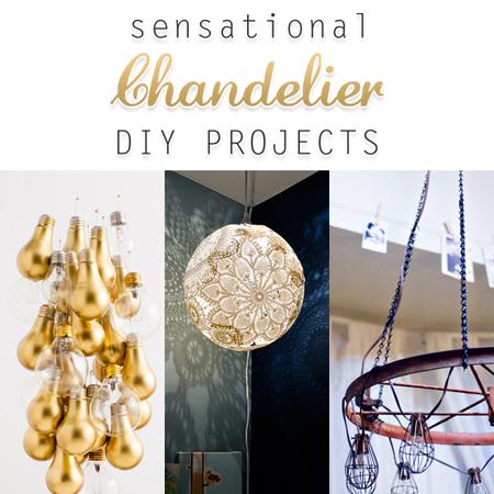 Sensational Chandelier DIY Projects