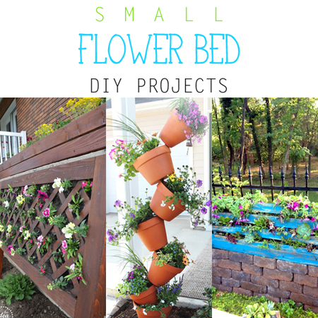 Small Flower Bed DIY Projects