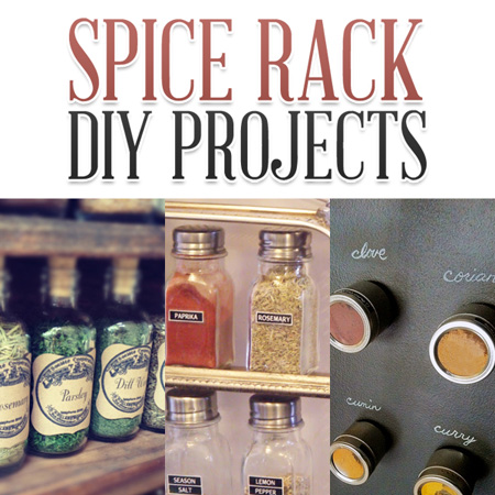 Spice Rack DIY Projects