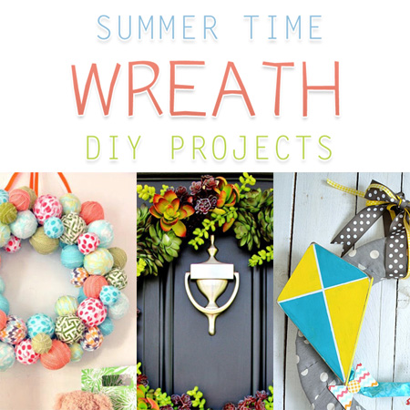 Summer Time Wreath DIY Projects