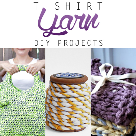 T-Shirt Yarn DIY Projects