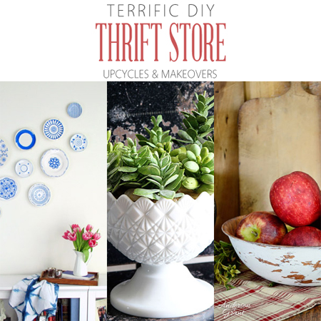 Terrific DIY Thrift Store Upcycles and Makeovers