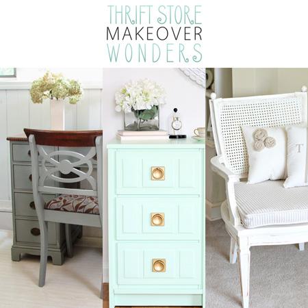 Thrift Store Makeover Wonders