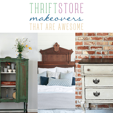 Thrift Store Makeovers That Are Awesome