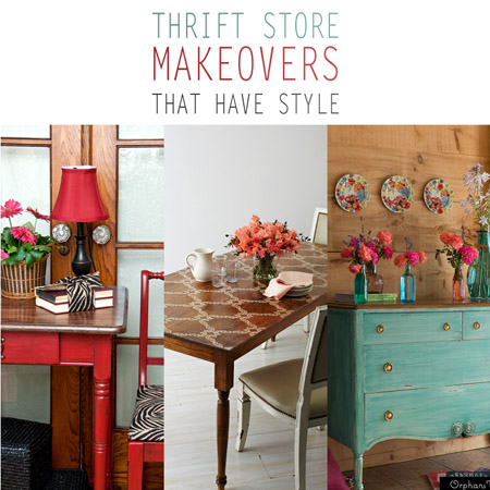 Thrift Store Makeovers /// That Have Style