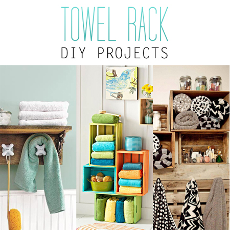Towel Rack DIY Projects