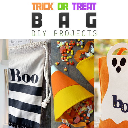 Trick or Treat Bag DIY Projects