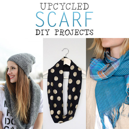 Upcycled Scarf DIY Projects