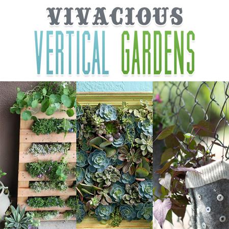 Vivacious Vertical Gardens