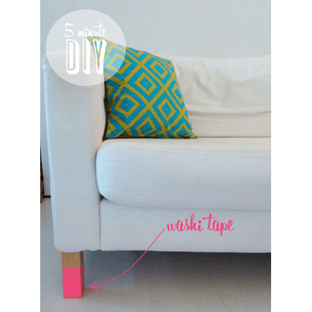 Washi Tape Home Decor DIY Projects