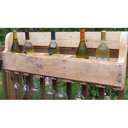 Wine Rack DIY Project 1