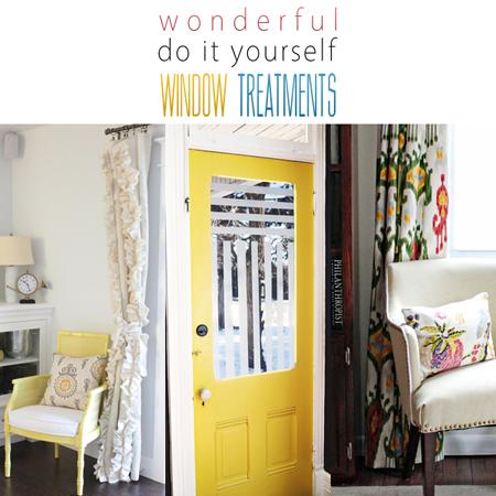 Wonderful Do It Yourself Window Treatments