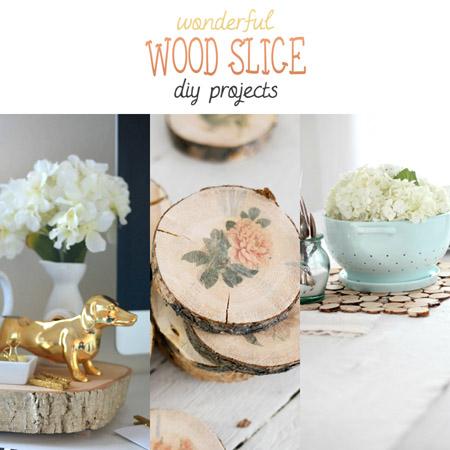 Wonderful Wood Slice DIY Projects