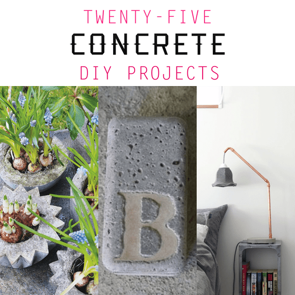 25 Creative Concrete Projects