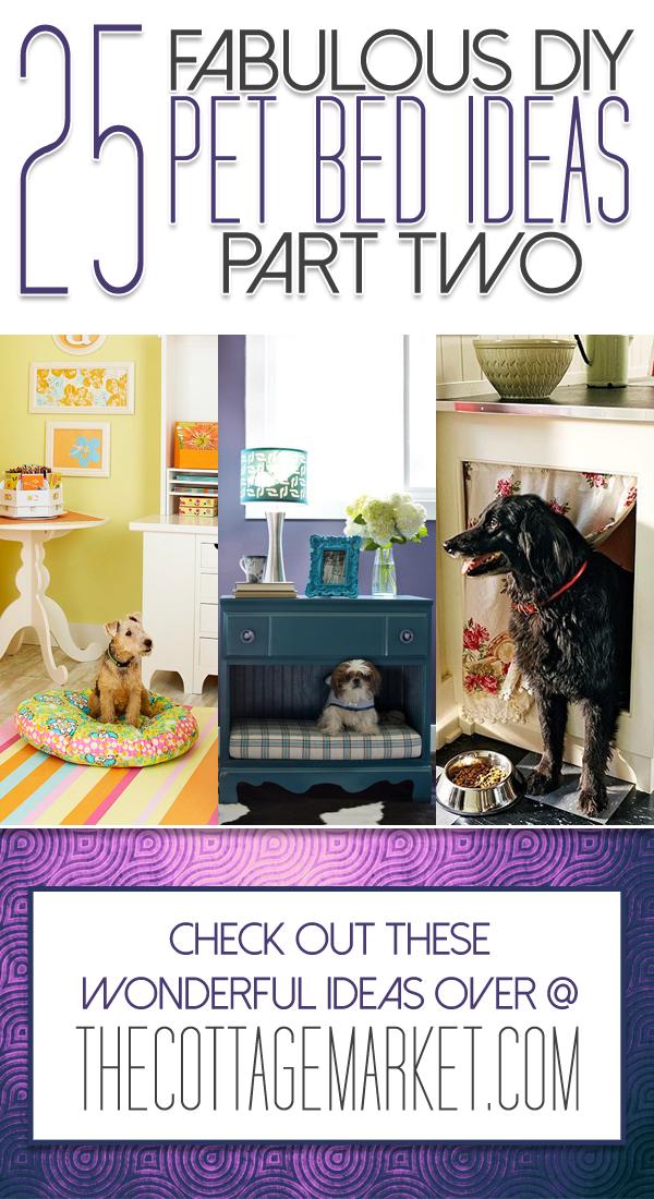 25 DIY Pet Beds - Part 2