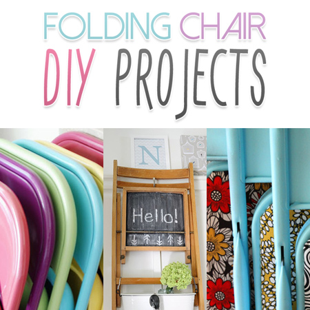 5 ways to upcycle a folding chair