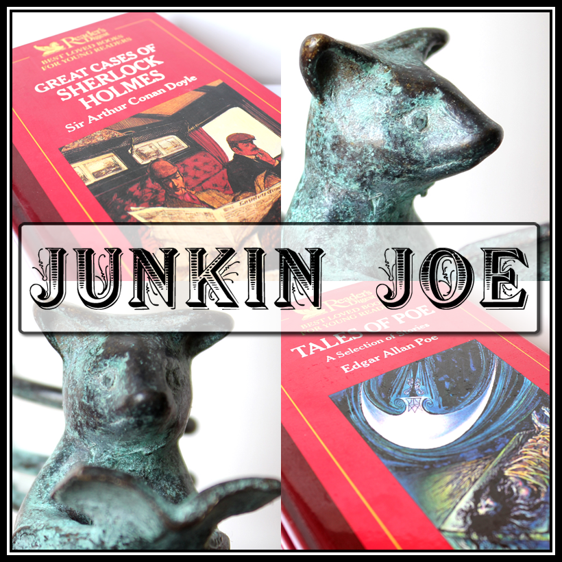 Junkin Joe Vintage and Thrifty Finds, Features and Linky Party!