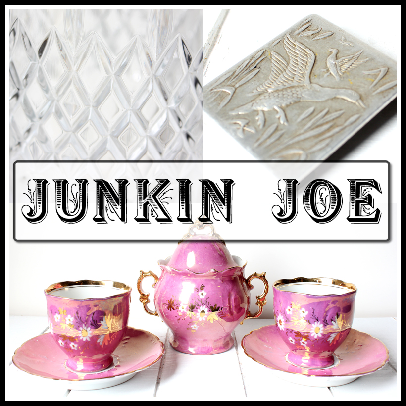 Junkin Joe Vintage and Thrifty Finds…features and a LINKY Party