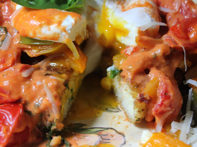 Meatless Monday after the Storm! Eggs Michelangelo